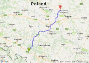 Trasa Dąbrówka Górna - Siedlin