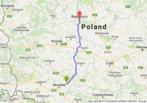 Oleśnica (dolnośląskie) - Bydgoszcz (kujawsko-pomorskie)