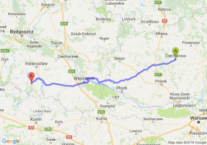 Trasa Ciechanów - Strzelno
