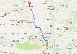 Trasa Annopol - Ciechanów