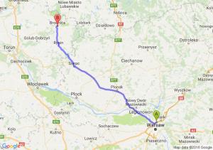Trasa Annopol - Brodnica