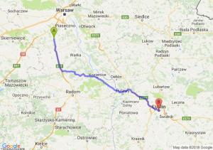 Tarczyn - Lublin
