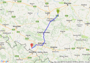 Trasa Rawa Mazowiecka - Racibórz