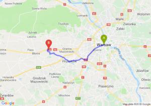 Warszawa - Święcice