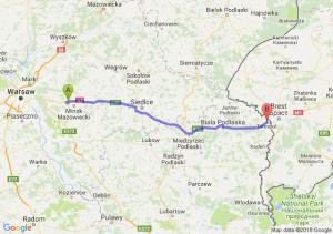 Trasa Choszczówka Stojecka - Terespol