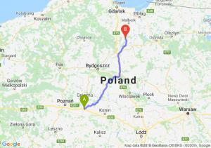 Trasa Września - Kwidzyn
