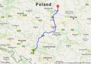 Trasa Dąbrówka Górna - Bielsk