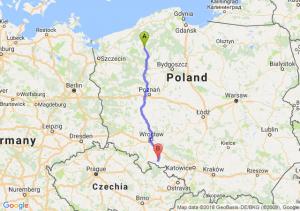 Trasa Szczecinek - Nysa