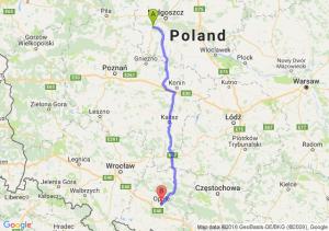 Szubin (kujawsko-pomorskie) - Opole (opolskie)