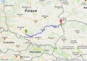 Trasa Dąbrówka Górna - Włodawa