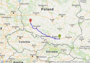 Trasa Brzesko - Polkowice