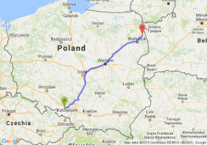 Trasa Kędzierzyn-Koźle - Sokółka