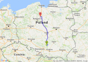 Trasa Bobolice - Świecie