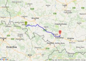 Trasa Wałbrzych - Czeladź