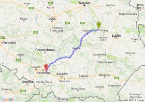 Trasa Bąkowiec - Mysłowice