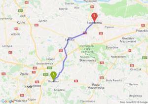 Trasa Brzeziny - Sochaczew