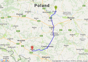Trasa Bielsk - Opole