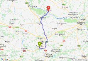 Trasa Pabianice - Płock