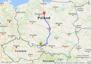 Trasa Racibórz - Lubicz Dolny