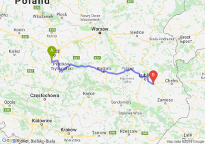 Trasa Pabianice - Piaski