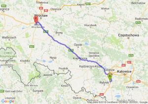 Trasa Czerwionka-Leszczyny - Tyniec Mały