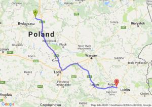 Trasa Chełmno - Kurów