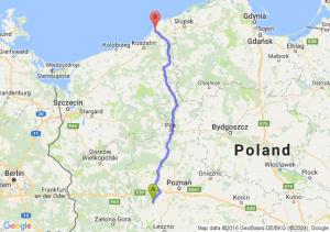 Grodzisk Wielkopolski (wielkopolskie) - Darłowo (zachodniopomorskie)