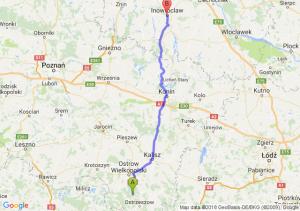 Trasa Antonin - Inowrocław