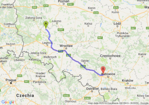 Trasa Głogów - Zabrze