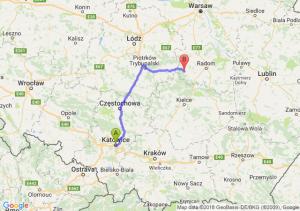 Trasa Katowice - Przysucha