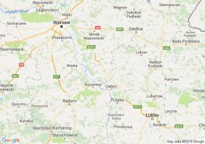 Kalisz (wielkopolskie) - Trojanowice (małopolskie) - Stępin