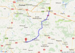 Września (wielkopolskie) - Gostyń (wielkopolskie)