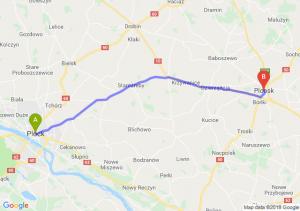 Trasa Płock - Płońsk