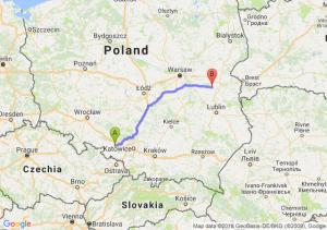Trasa Kędzierzyn-Koźle - Łuków