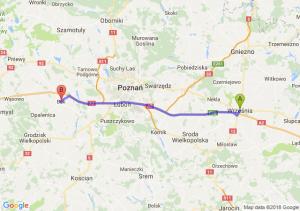 Trasa Września - Buk