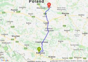 Trasa Bytom - Płock