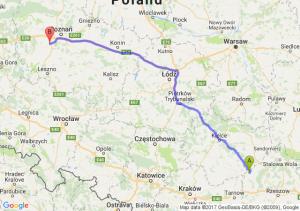 Trasa Borowa - Stęszew