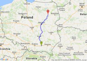 Trasa Tarnów - Łomża
