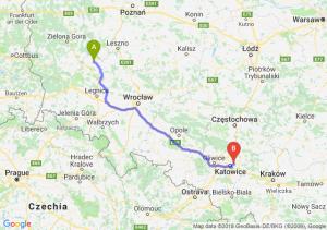 Trasa Głogów - Sosnowiec