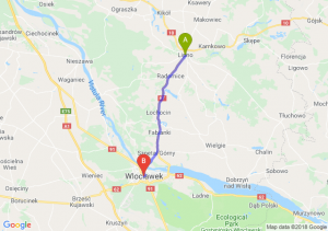 Trasa Lipno - Włocławek