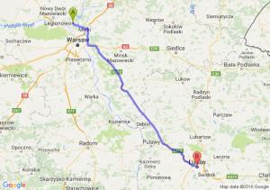 Legionowo (mazowieckie) - Lublin (lubelskie)