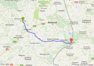 Łomża - Białowieża