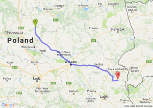 Trasa Brodnica - Wisznice