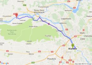 Warszawa - Wilków Nad Wisłą