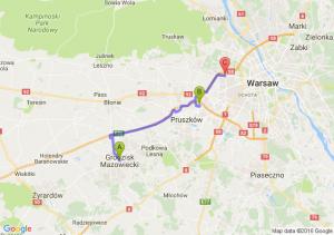 Grodzisk Mazowiecki (mazowieckie) - Piastowow (mazowiecki) W - Warszawa (mazowieckie)bemowo