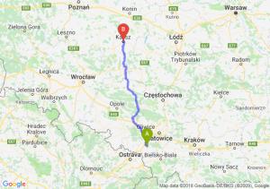 Trasa Żory - Kalisz