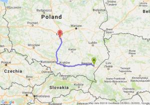 Trasa Jarosław - Rzgów