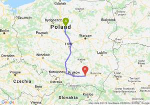 Trasa Lipno - Tarnów