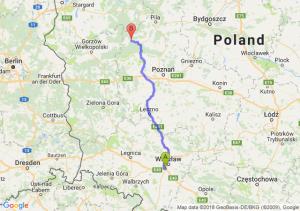 Trasa Bielany Wrocławskie - Wieleń