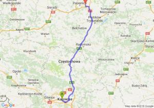 Trasa Chorzów - Rzgów